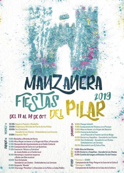 Fiestas del Pilar en Manzanera @ Bronchales   Aragón   España