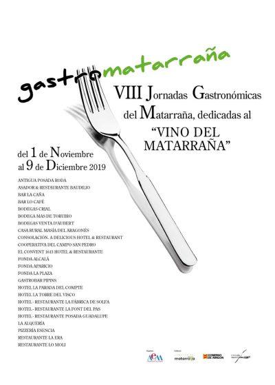 VIII Jornadas gastronómicas del Matarraña @ Aragón | España
