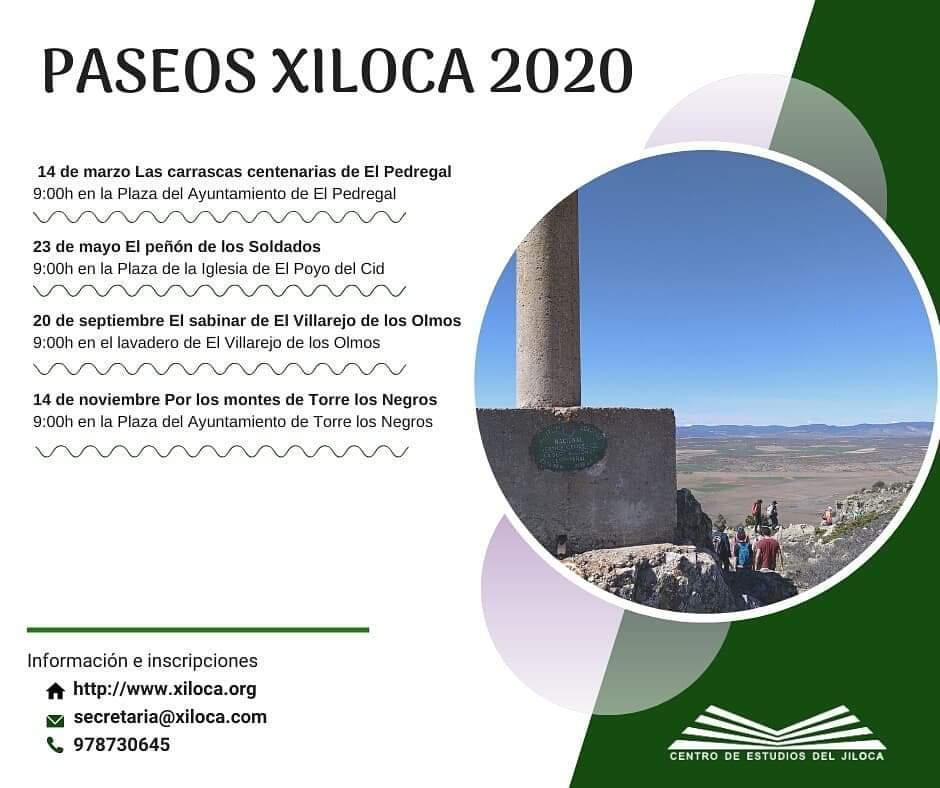 paseos xiloca 2020