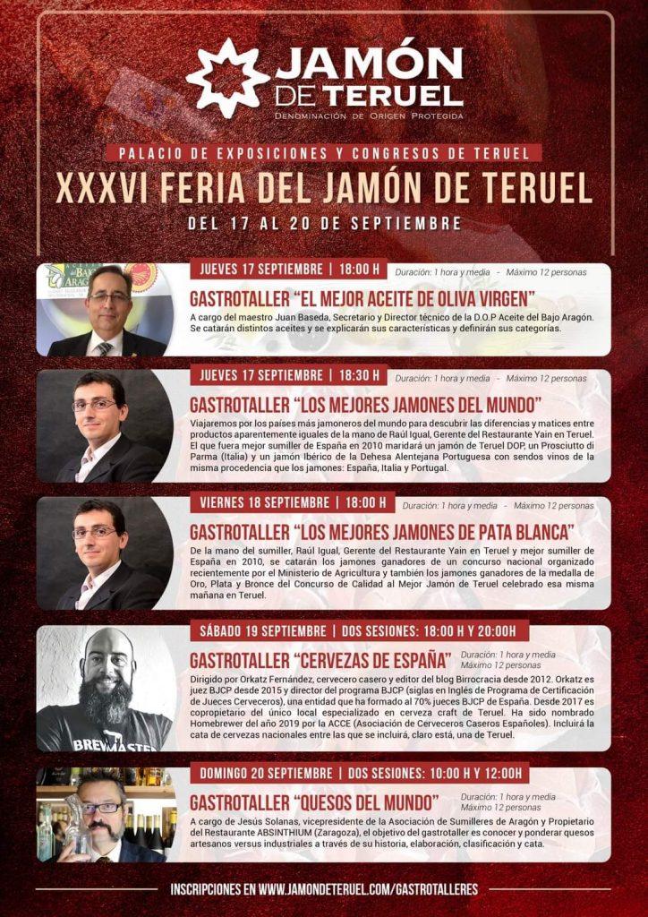 Feria del Jamón Teruel 2020