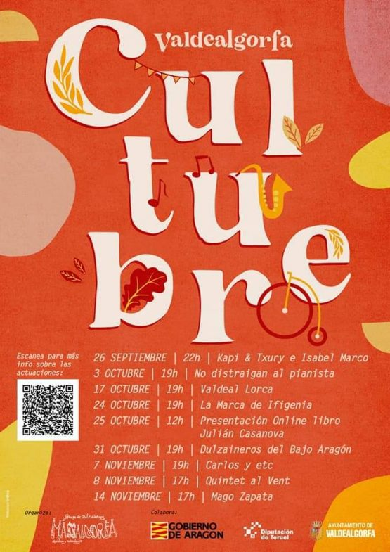 Cultubre - Valdealgorfa @ Valdealgorfa | Aragón | España