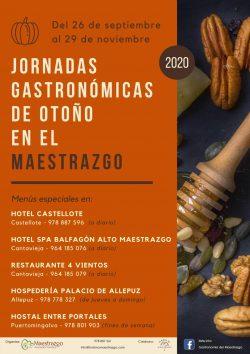 jornadas gastronomicas maestrazgo 2020