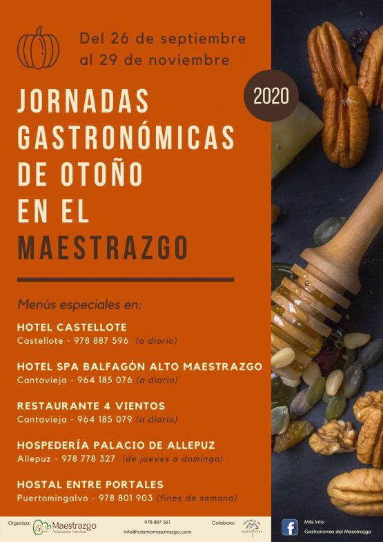 Jornadas Gastronómicas de Otoño en el Maestrazgo @ Aragón | España