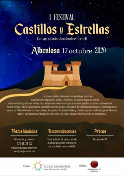 festival castillos y estrellas albentosa 2020