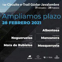 circuito etrail gudar javalambre 2020-21