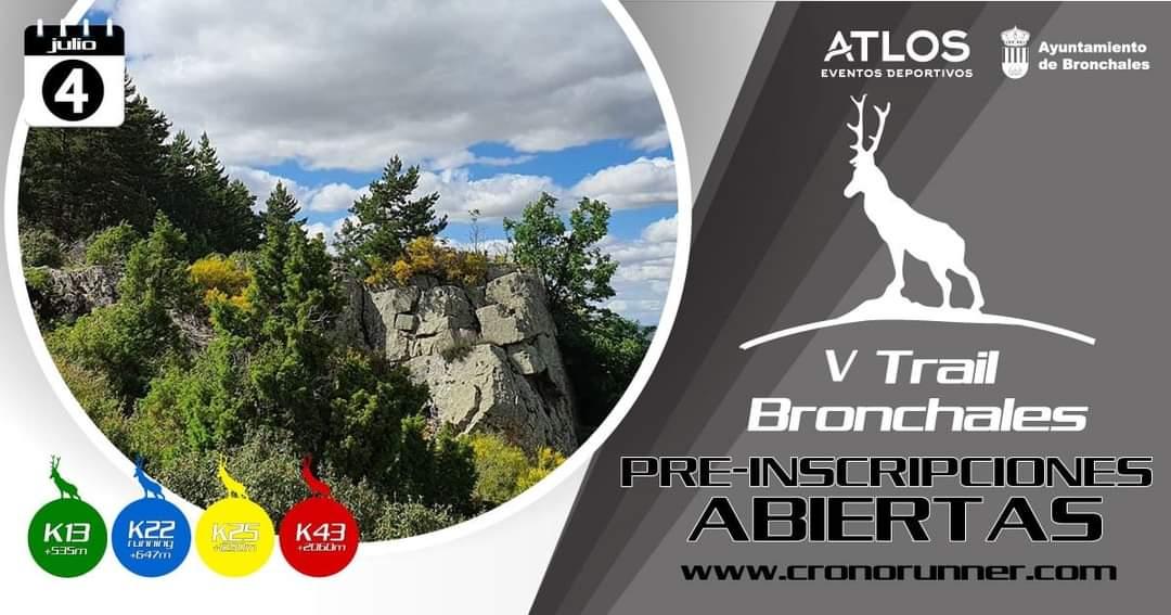 V trail bronchales 2021